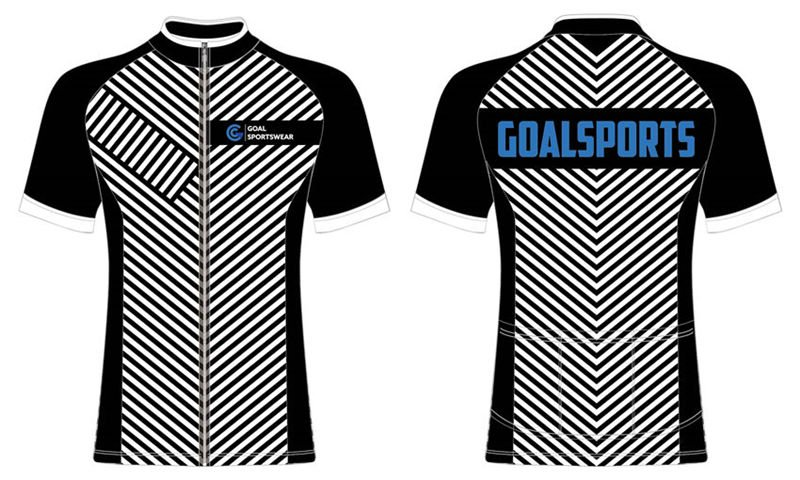 Dye sublimation printing Custom design youth cycling jerseys