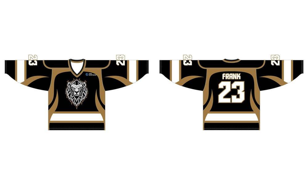 Dye sublimation printing Custom design youth hockey uniforms