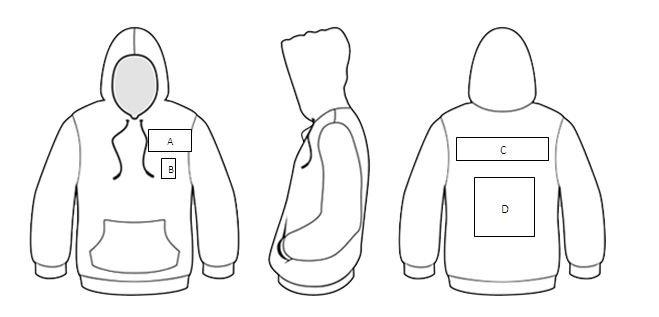 Designing sublimated custom hoodies