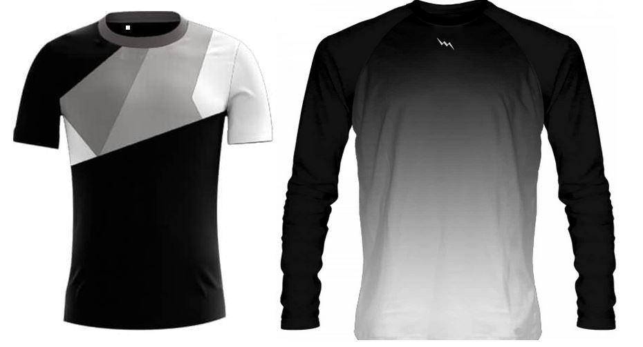 Short vs long sleeve sublimated shirts