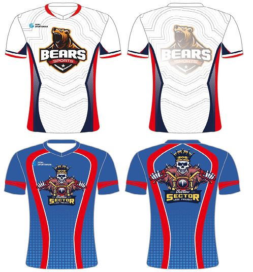 Sublimated e sports uniform
