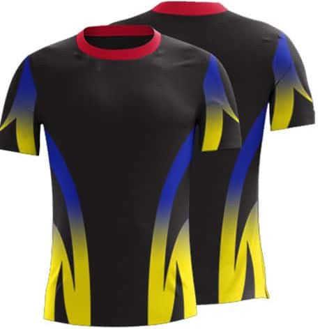 Custom sublimated t shirt