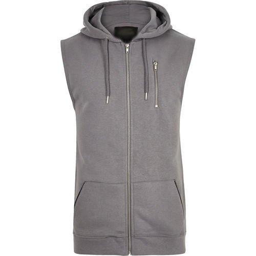 Sleeve less hoodie