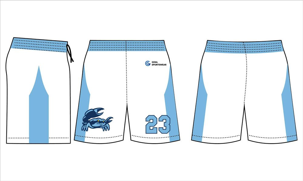 Full Sublimated custom made mens team lacrosse shorts