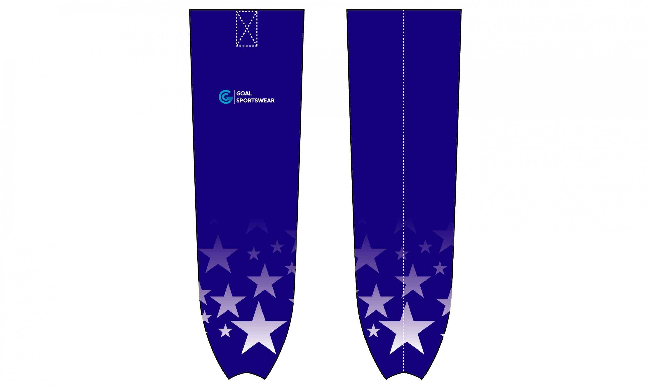 Full dye sublimation printing custom design hockey socks