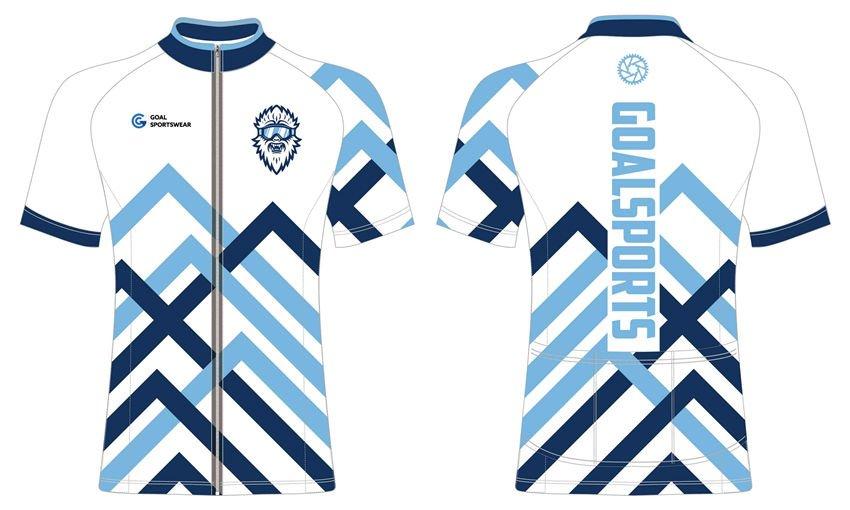 Full dye sublimation printing custom made team cycling jerseys