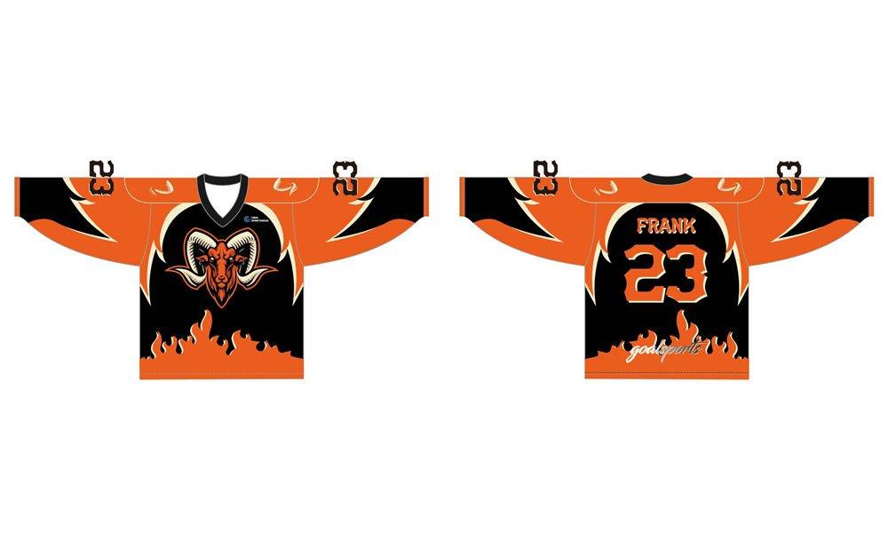 Full dye sublimation wholesale custom design hockey jerseys