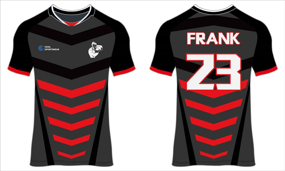 Full dye sublimation wholesale custom made black soccer jerseys