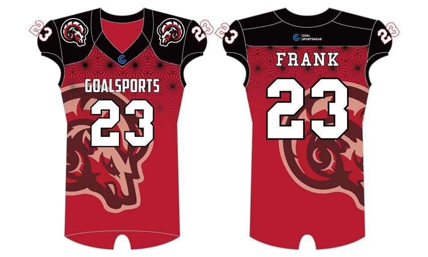 Full dye sublimation wholesale custom made football uniforms