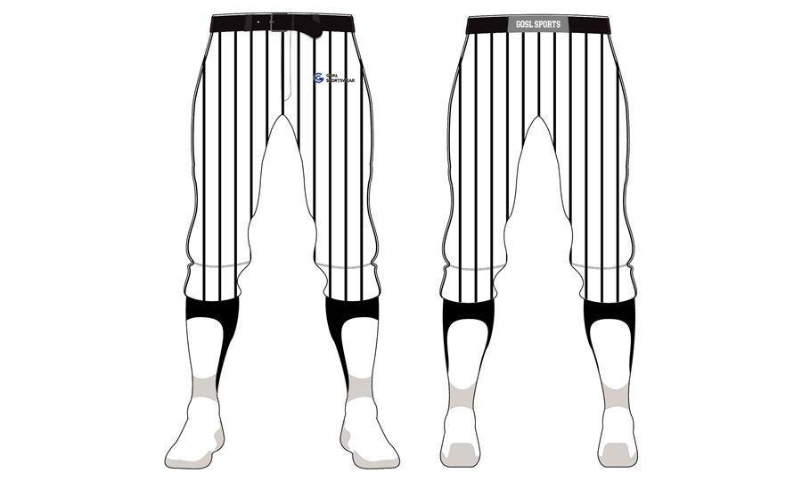 High quality 100% polyester sublimation custom design baseball pants