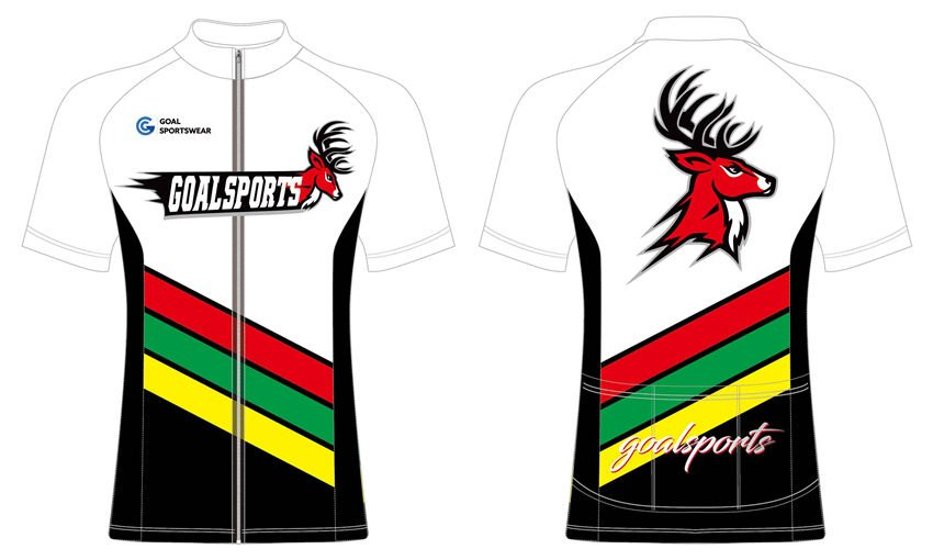 High quality sublimation custom design 100% polyester cycling jerseys