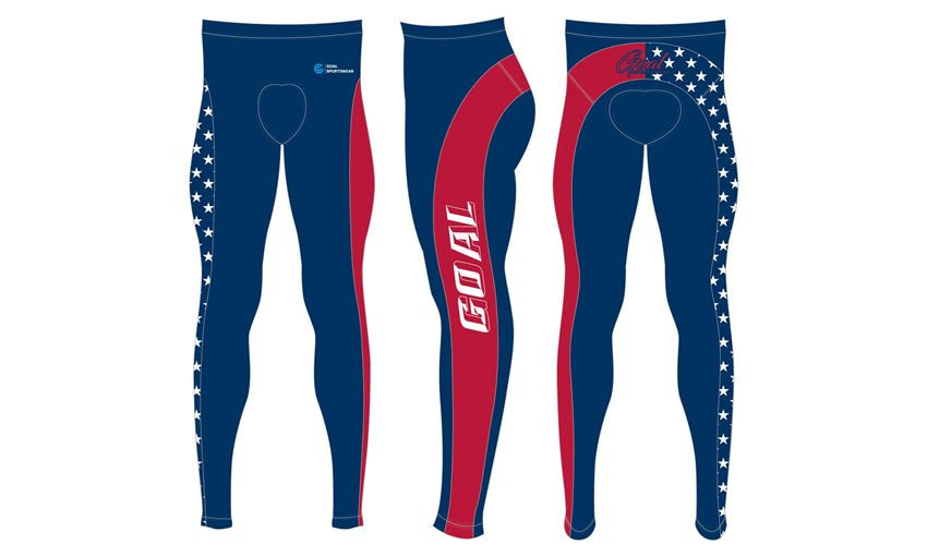 Polyester spandex sublimation custom design cycling pants