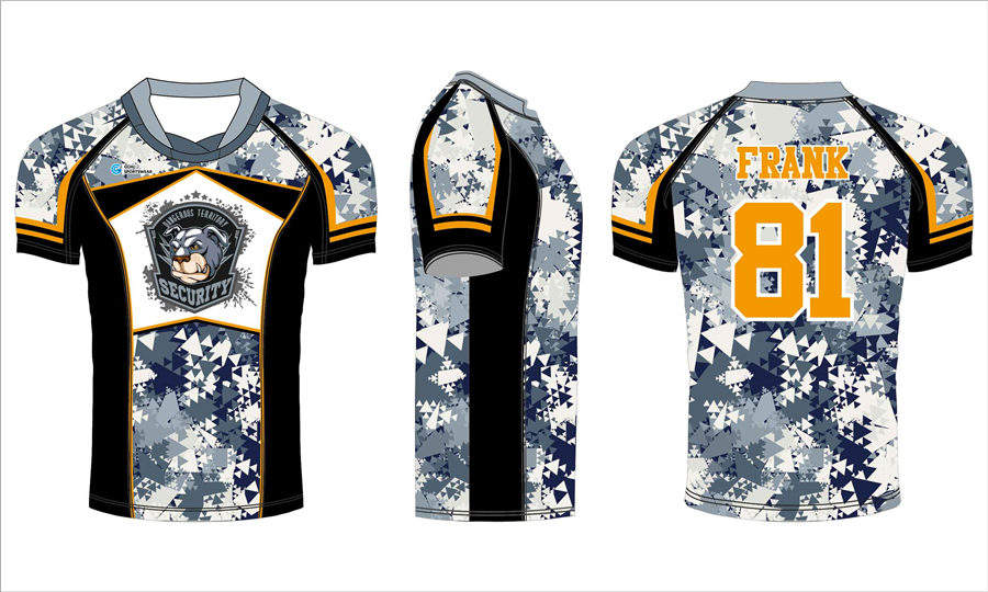 Pro quality Custom design sublimated printing mens rugby jerseys