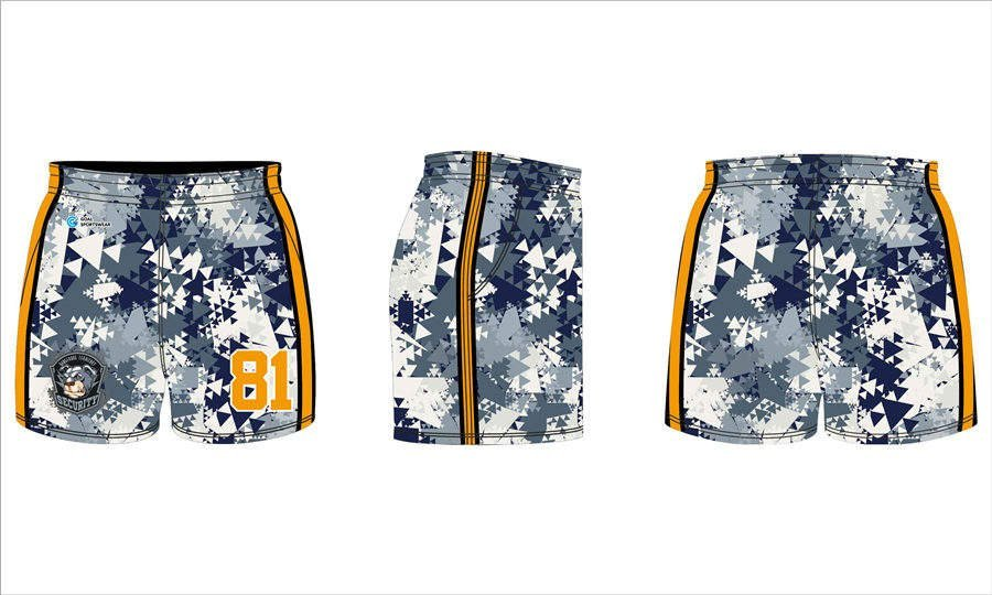 Pro quality Custom design sublimated printing youth rugby shorts