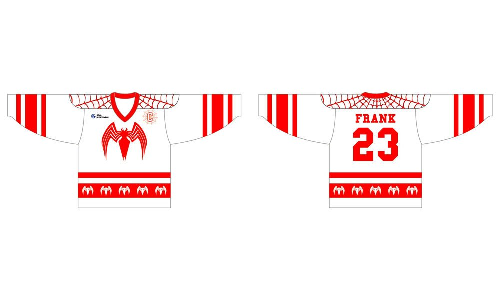 Sublimation printing 100% polyester Custom youth hockey jerseys