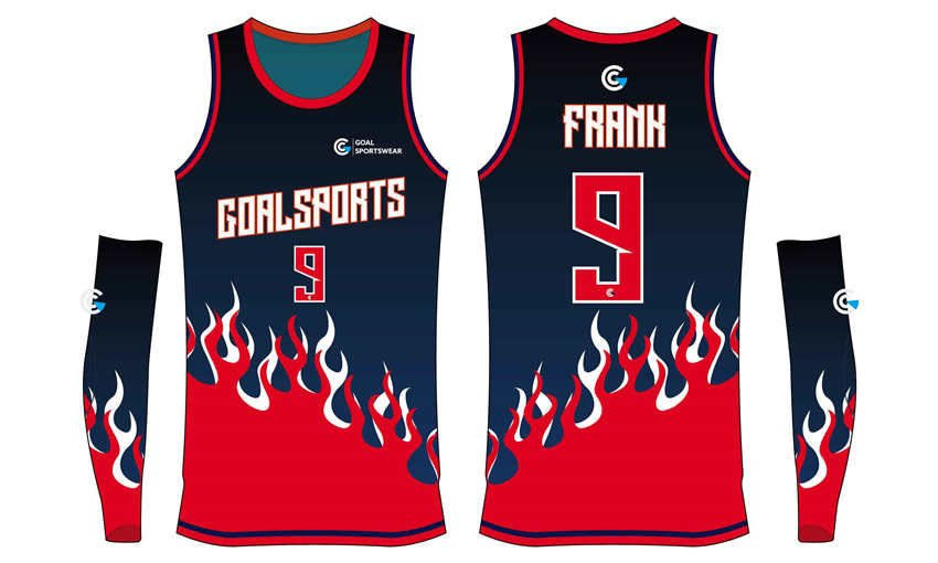 Sublimation printing 100% polyester dry fit custom basketball jerseys