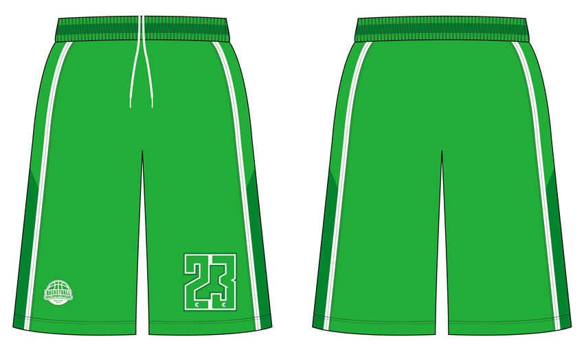 Sublimation printing 100% polyester dry fit custom basketball shorts
