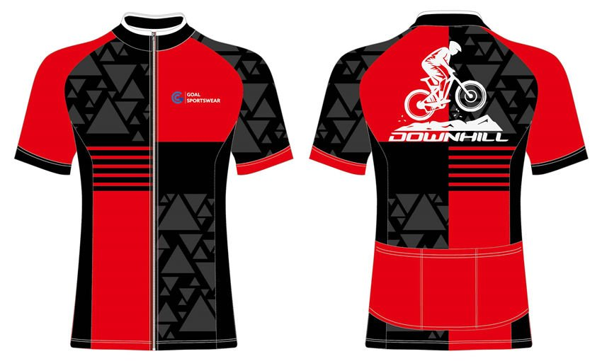Wholesale high quality sublimation custom team cycling jerseys