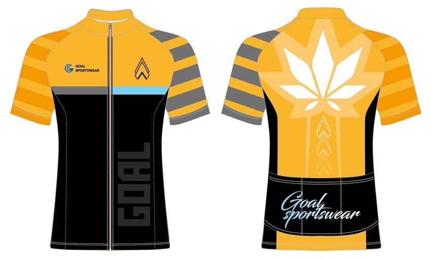 Wholesale high quality sublimation printing custom cycling jerseys