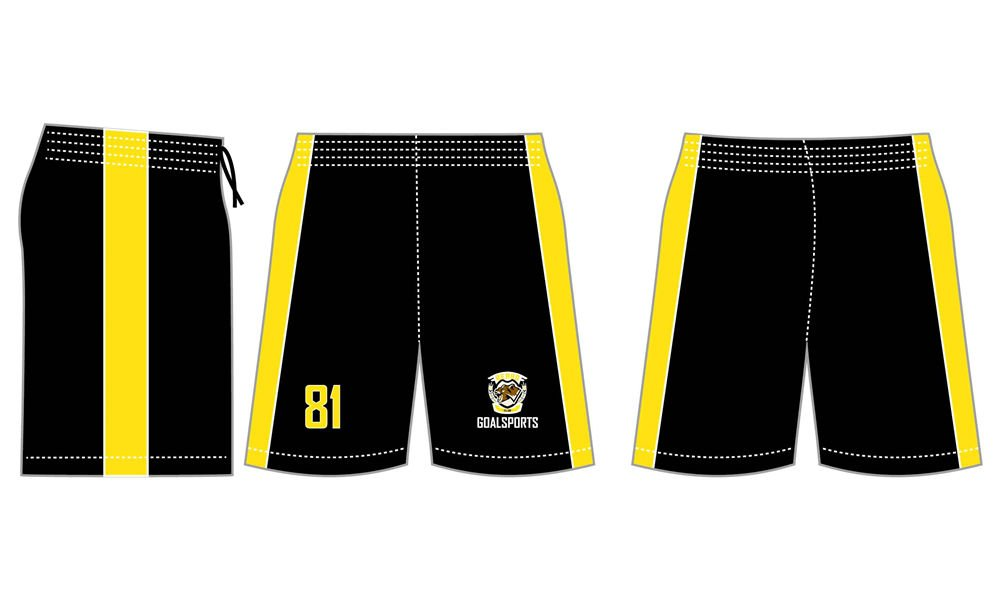 Wholesale high quality sublimation printing custom lacrosse shorts