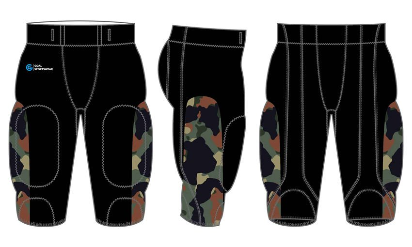 Wholesale pro mesh custom sublimated printed football pants