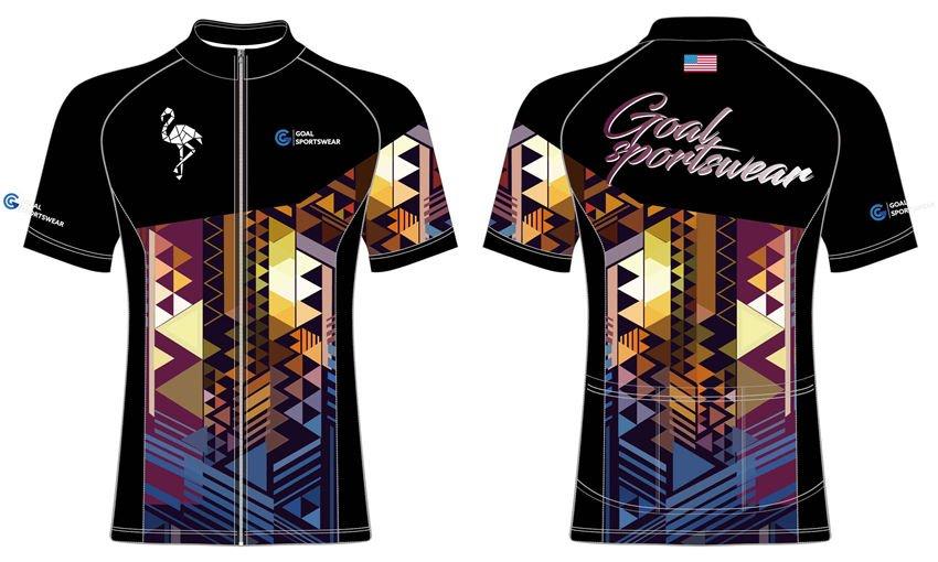 wholesale high qualtiy sublimation custom made cycling jerseys