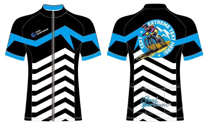 wholesale polyester spandex custom made sublimation cycling jersey