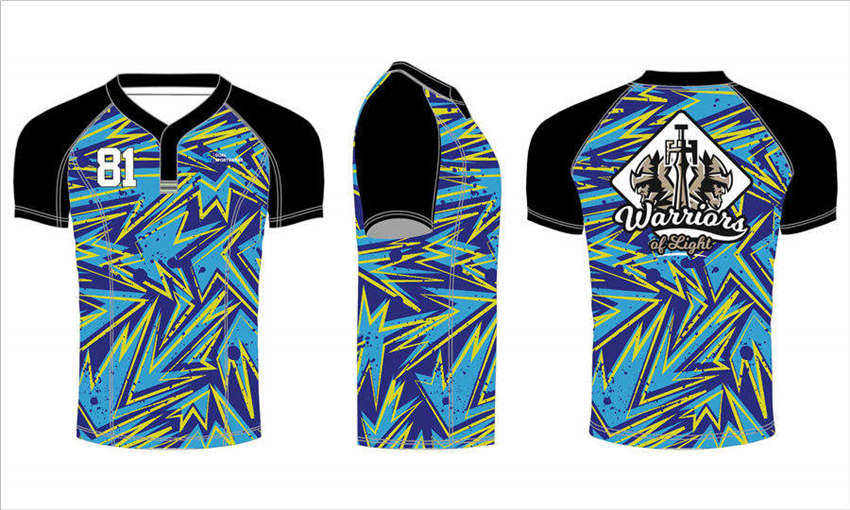 wholesale pro polyester custom sublimated printed team rugby jerseys