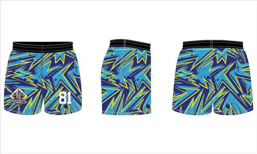 wholesale pro polyester mesh custom sublimated printed rugby shorts