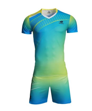 Short sleeve sublimated volleyball jersey