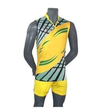 Sleeveless volleyball jersey