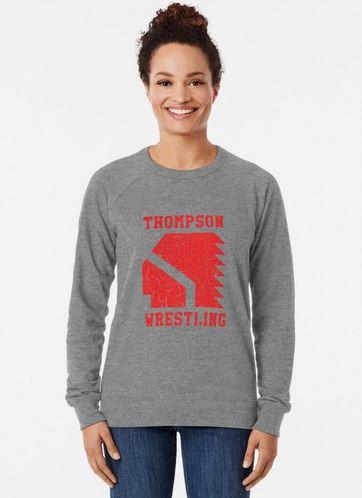 Wear wrestling sweatshirt