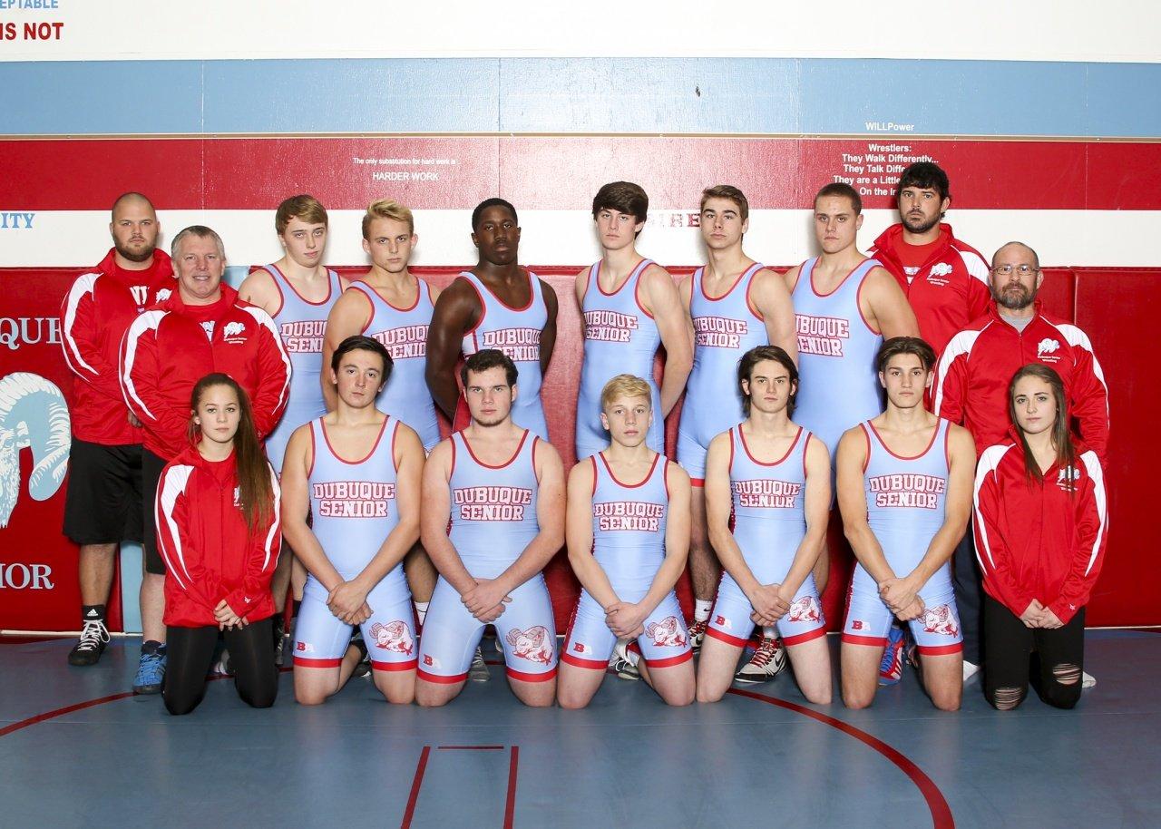 Custom wrestling team