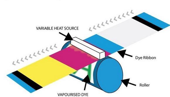 Dye sublimation process
