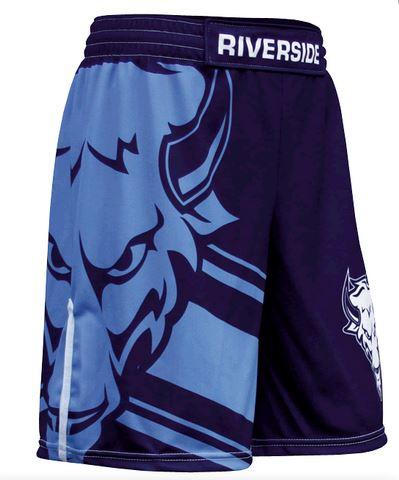 Sublimated wrestling shorts