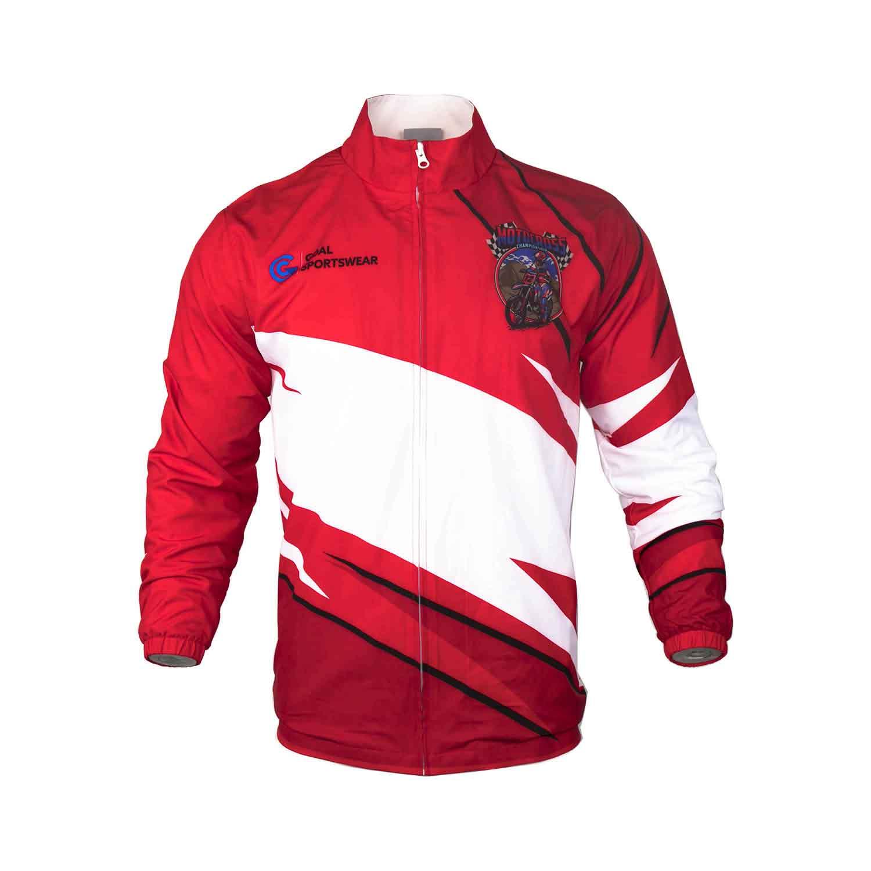 4-Sublimated warm up jackets