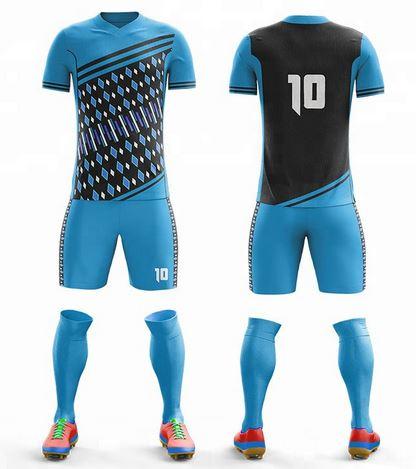Custom soccer kit