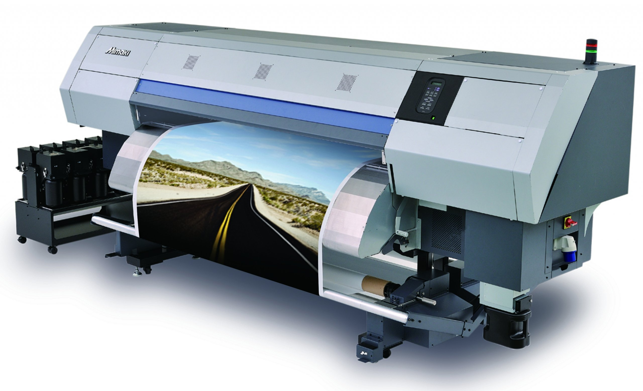 Dye sublimation printing machine