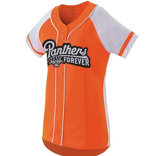 Full button custom softball shirt b