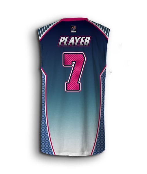 Men sleeveless softball jersey