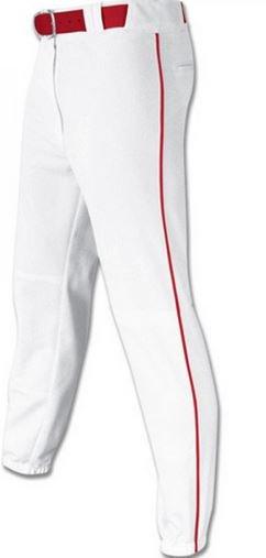 Piped sublimated baseball pant