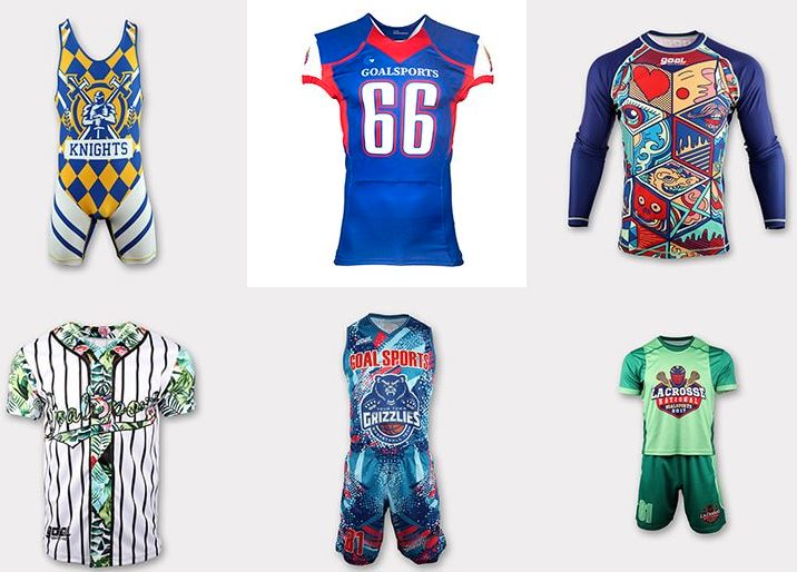Sublimated sports uniform