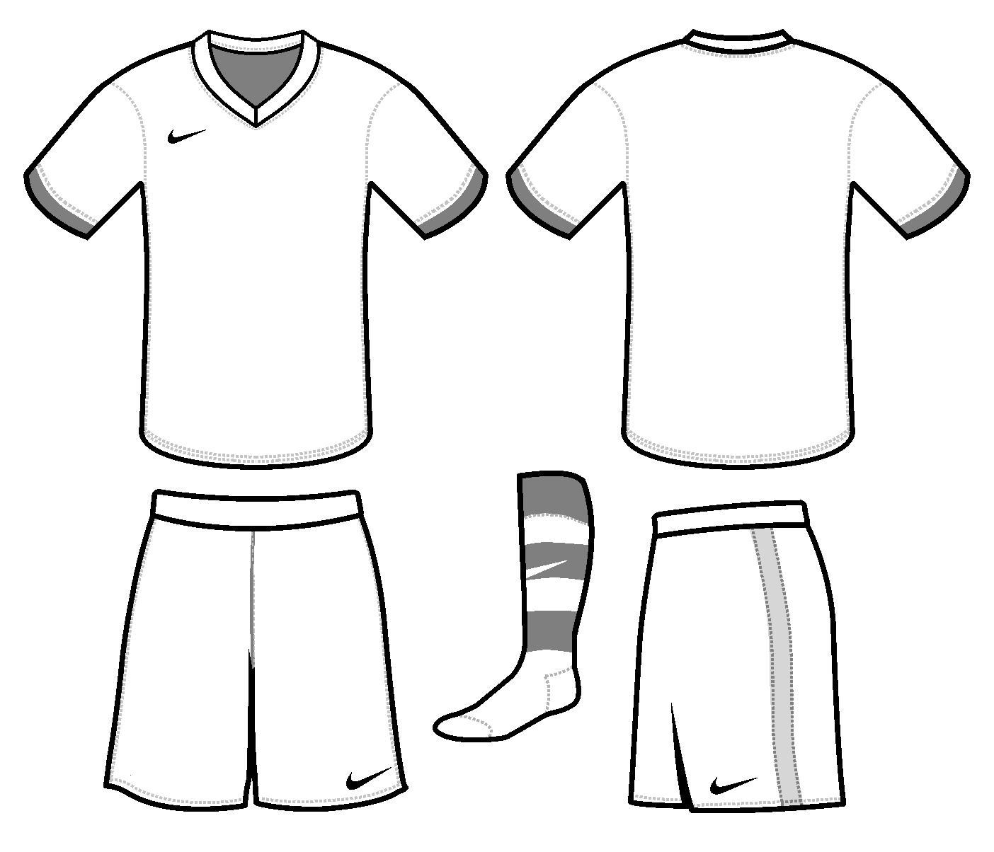 Soccer kit design template