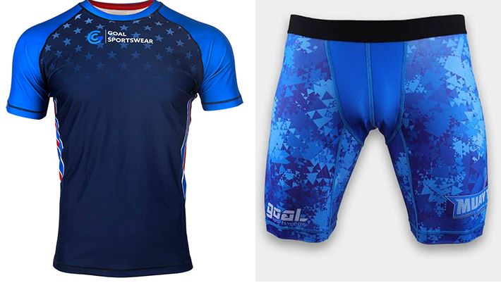 Figure 3 Sublimated wrestling jersey