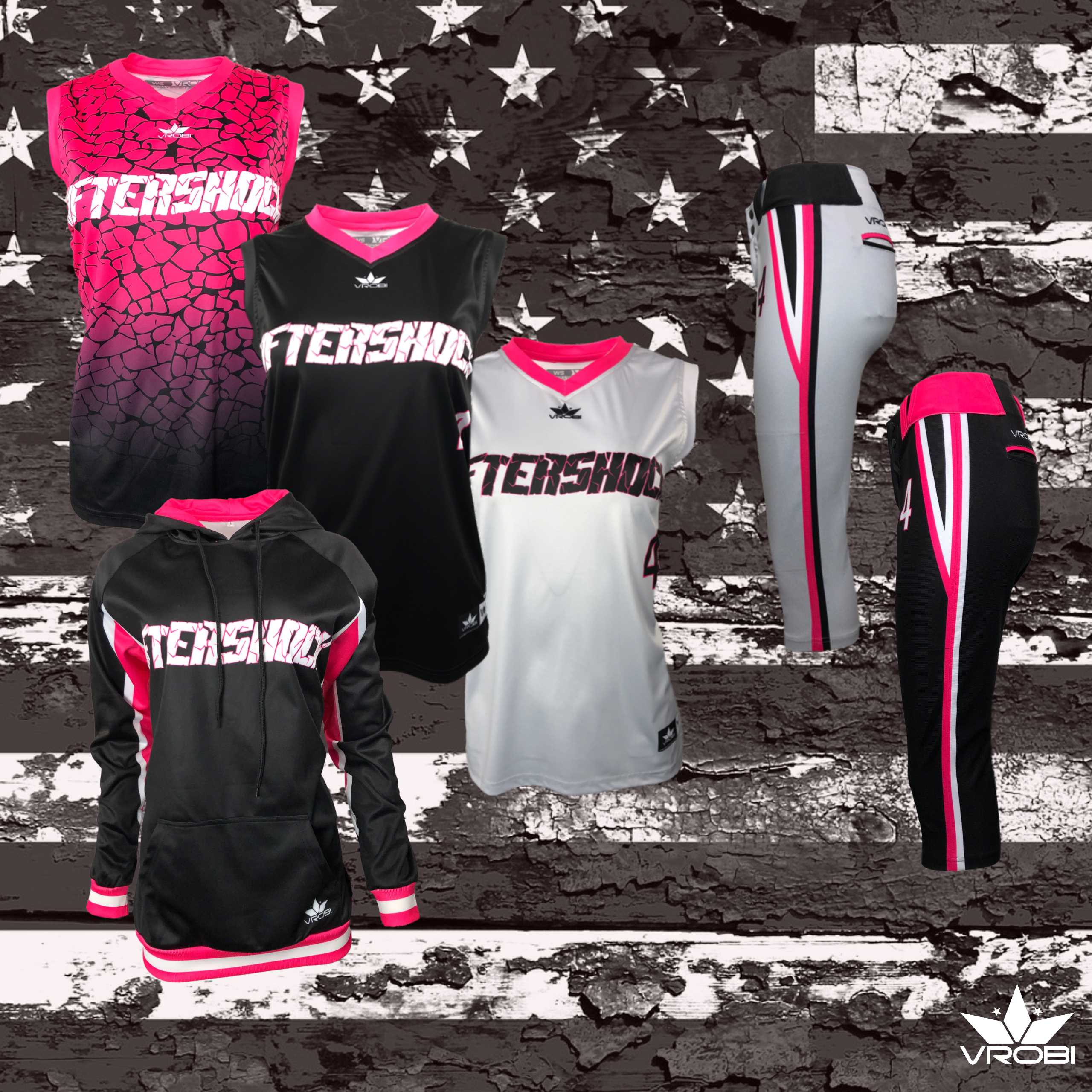Sublimated softball uniform team package