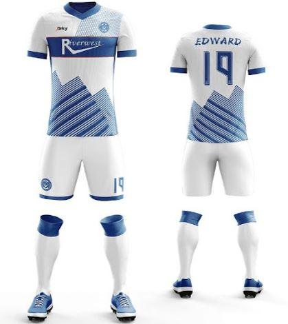 Soccer jersey kit