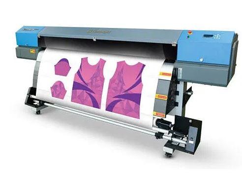 Sublimation printing of softball shirt