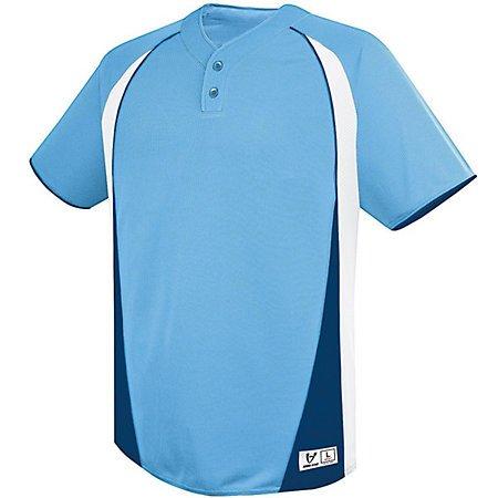 Two button baseball jersey