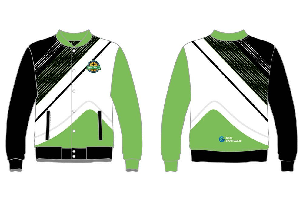 custom button down basketball jackets