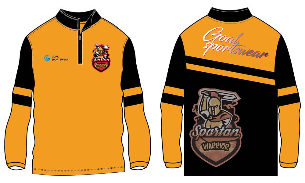 custom fleece 1_4 zipper basebal jackets
